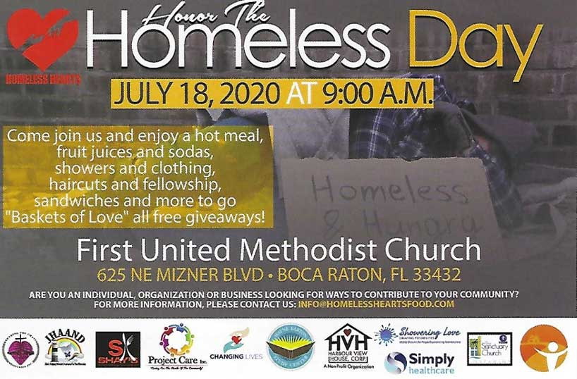 Honor The Homeless Day