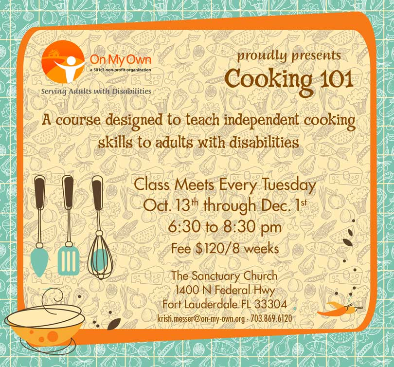 Cooking Class for Adults with Disabilities